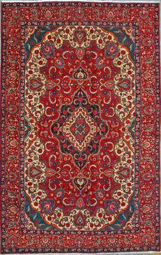 Buy Hamadan Persian Rug x Authentic Hamadan Handmade Rug Persian Carpet, Persian Rug, Carpets, Bohemian Rug, Oriental, Old Things, Rugs, Handmade, Stuff To Buy