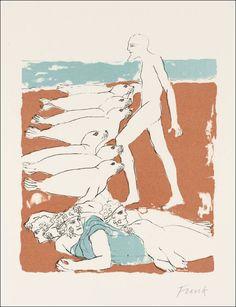 Book Graphics: The Odyssey Elisabeth Frink, Drawing Sketches, Drawings, Pet Birds, Printmaking, Mythology, Book Art, Folk, Illustration