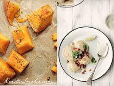 Pierogi z pieczoną dynią i białym serem | Kwestia Smaku