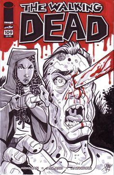 Michonne - The Walking Dead - Cal Slayton