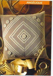 ROSALUZ CROCHES: almofada de crochê