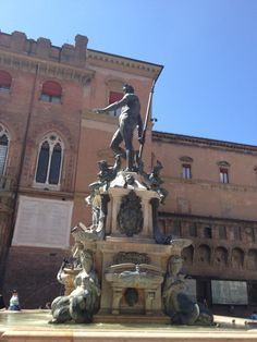 Neptune Fountain Bologna