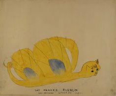 el ponk: Henry Darger kitten creatures
