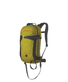 Rocker R.A.S. #Avalanche #Airbags #Mammut. The Removable Airbag System R.A.S. integrated in our most compact freeriding backpack. The Rocker R.A.S. is roomy enough to hold all the essential items for freeriding and is very comfortable to carry thanks to its close-fitting design.
