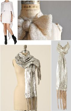 Winter scarves..