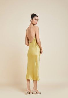 Swans Style is the top online fashion store for women. Shop sexy club dresses, jeans, shoes, bodysuits, skirts and more. Red Silk Dress, Gold Dress, Yellow Dress, Zara Dresses, Club Dresses, Prom Dresses, Olivia Von Halle, Satin, Velvet Fashion
