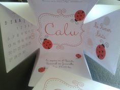 Caja 8x8 de cumpleaños con tapa impresa