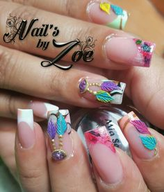Dream catcher full acrylic #nail_by_zoe