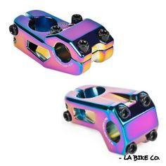 Rainbow TLC BIKES Altum Top Load BMX Stem Jetfuel Black Oilsick