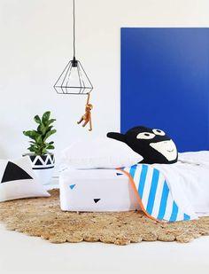 Bushel & a Peck Striped Flats, Flat Sheets, Kid Beds, Linen Bedding, Blue Stripes, Color Splash, Kids Rugs, Children, Fun