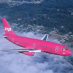 Pink Plane in flight Pink Love, Pretty In Pink, Hot Pink, My Favorite Color, My Favorite Things, Pink October, Pink Cadillac, Pink Cotton Candy, Pink Panthers