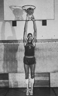 1955 Chamberlain played for his high school basketball team the Overbrook Panthers. He would go on to score 2,252 points during his high sch...