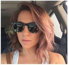 asymmetric bob hair for women