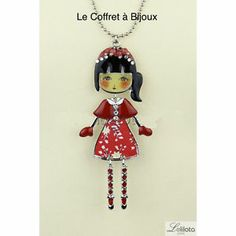 Sautoir LOL Alma Rouge Bijoux LOL   eBay