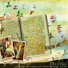 digital scrapbook journaling ideas