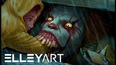 It - Speed Painting by Elleyart