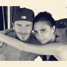Victoria Beckham muy orgullosa de su marido, fresh from #Instagram