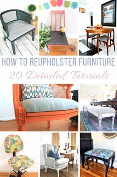 How To Reupholster Furniture   20 Detailed Tutorials