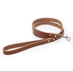 GENUINE LEATHER DOG LEASH 6 FT for Large/Medium/Small Dogs * Read more info by clicking the link on the image.