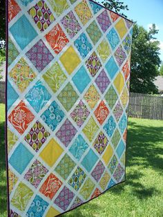 Want a fast and easy quilt?  This is one!