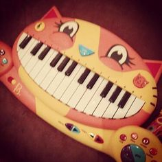 "Mike tweeted that the opening to ""Lost In The Echo"" was recorded on this keyboard.  [personal note: i rock the keyboard cat on a regular basis...more proof I'm the missing member of LP haha]"