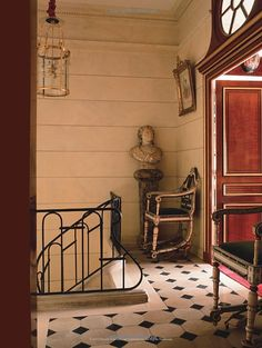 "Image from the Book ""Parisian Interiors"" by Barbara Stoeltie, Rene Stoeltie"