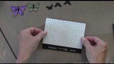 Glittery Butterflies Card