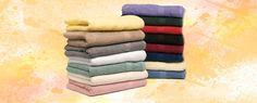 ¿Cómo evitar que las toallas nuevas destiñan?