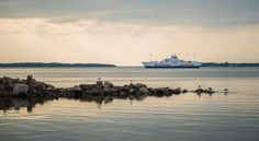 Northumberland Ferries and Bay Ferries schedules, routes, and information about ferry rides to and from Nova Scotia, New Brunswick, and PEI. New Brunswick, Nova Scotia, Maine, Sailing, Ships, Waves, Island, Nfl, Outdoor