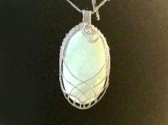 Aventurine pendant green pendant antiqued by ClidastesStones