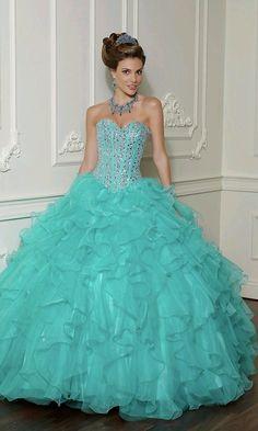 Lindo vestido de quinceañera