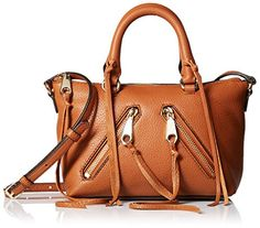 Rebecca Minkoff Micro Moto Satchel Handbag, Almond