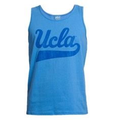 ae76d636d UCLA Script Tank Top. UCLA · UCLA Apparel   Gear
