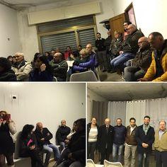 Todi, 20 aprile 2017. Ampia partecipazione nella zona Cappuccini per Floriano Pizzichini Sindaco (con Claudio Ricci Consigliere Regionale).