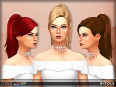 New Mesh Found in TSR Category 'Sims 4 Hair Sets'