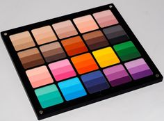 Inglot rainbow eyeshadow palette - every color you would ever need!
