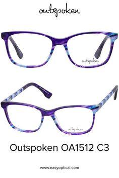 OUTSPOKEN OA1512 C3 Eyewear, Glasses, Easy, Eyeglasses, Eyeglasses, Sunglasses, Eye Glasses