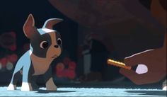 Seriously! This was the cutest thing ever! Loved this short! And yes, it made my eyes a little watery. I love that Disney is incorporating shorts again :)