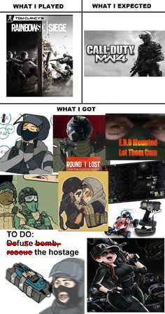 Rainbow Six Siege: What I Played, Expected, Got   Rainbow Six Siege   Know Your Meme