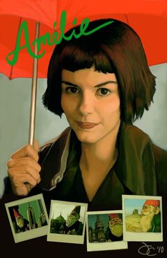 amelie poster | Movie Poster - Amelie by greyviolett