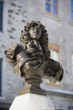 Quebec City, Statue of King Louis XIV at Place Royale