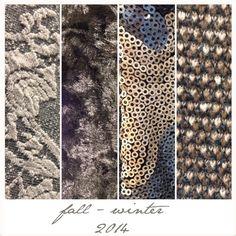 Ven a sentir, tocar, probar los tejidos de la nueva colección! <3