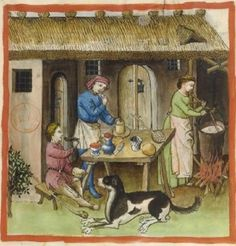 It's About Time: Illuminated Manuscripts & a brief history of chees...