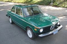 This 1976 BMW 2002 is described as an original California car that's had $14k in mechanical work over the past nine years. This green looks sharp, we like the sunroof, and the car has been in California its whole life. All that plus a no reserve auction means this is one to watch, especially for those who in rustier areas who understand that shipping is far cheaper than metal fab. Find it here on eBay in Los Angeles, California.