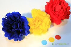 Diy For Kids, Crafts For Kids, Orange Aesthetic, Kids Education, Classroom Decor, Blue Yellow, 1 Decembrie, Paper Crafts, Colours