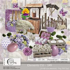 CAJOLINE-SCRAP: Elements CU - 149