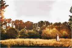 Sunset Wedding Shooting with the Bride and Groom...