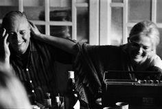 1975. Dario Fo e Franca Rame, a casa.
