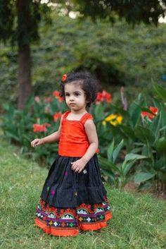Indian Dresses For Girls, Dresses Kids Girl, Kids Outfits, Children's Outfits, Kids Lehenga Choli, Kids Lehanga, Ghagra Choli, Cotton Frocks For Kids, Kids Dress Wear