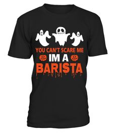 HALLOWEEN BARISTA COSTUME  #birthday #october #shirt #gift #ideas #photo #image #gift #costume #crazy #halloween